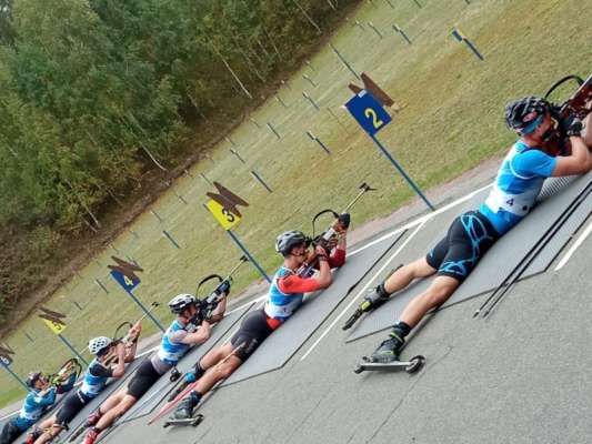 Доценко виграв останню гонку літнього чемпіонату України з біатлону