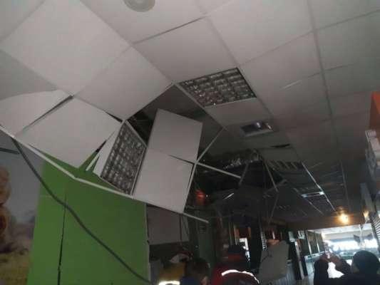 У Чернівцях - вибух у торговому центрі. Фото