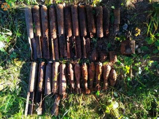 Возле Яремче спасатели нашли десятки боеприпасов времен Второй мировой войны