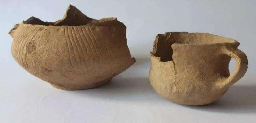 Фрагменты керамики