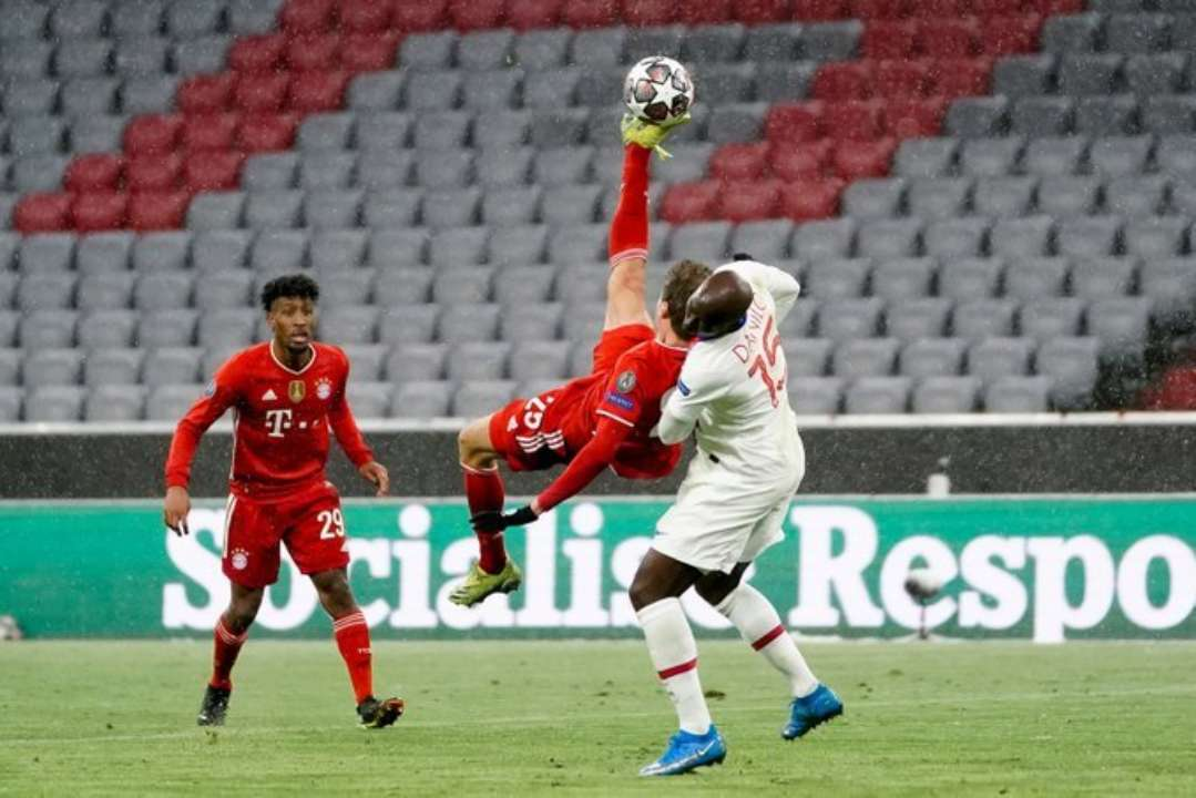 Мюнхенская перестрелка. Бавария и ПСЖ определили сильнейшего в матче с пятью голами