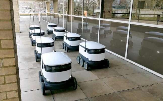 Роботи-кур'єри