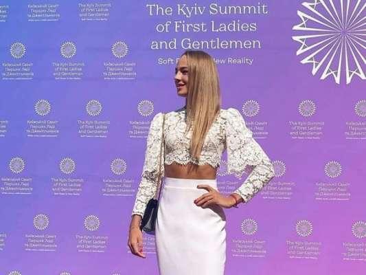 Дарья Билодид посетила первый саммит леди и джентельменов. Фото
