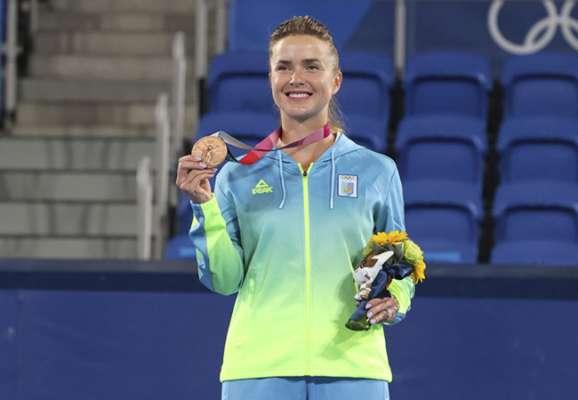 Слезы и эмоции счастья. Как Свитолина выигрывала бронзу Олимпиады (ФОТО)