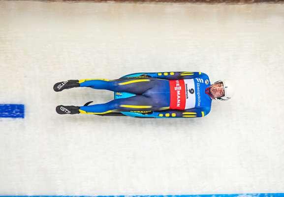 Украинский саночник впервые в истории вышел в финал на ЧМ в спринте