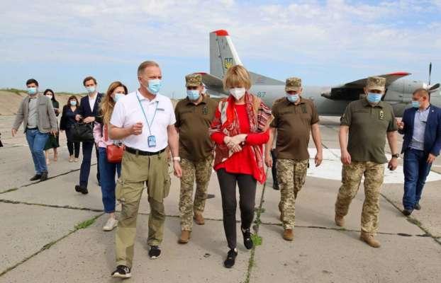 Генсек ОБСЕ посетила Донбасс