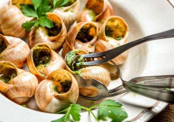 Рецепт: блюдо з равликами