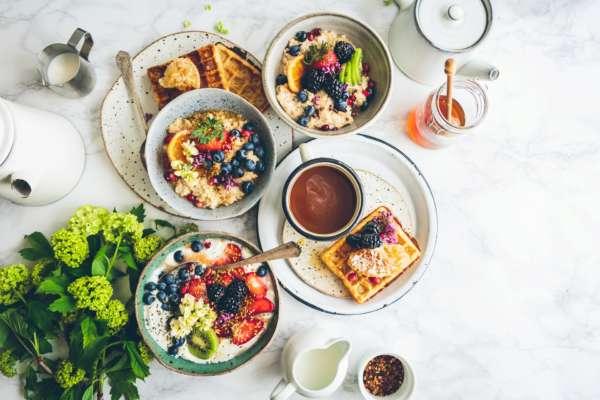 вкусные и полезные варианты завтрака