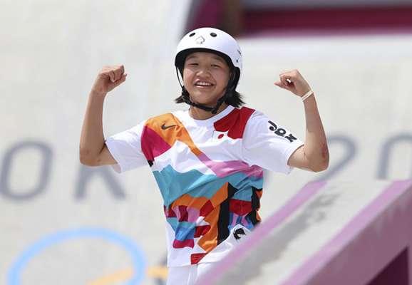 13-летняя японка стала самой молодой олимпийской чемпионкой с 1936 года