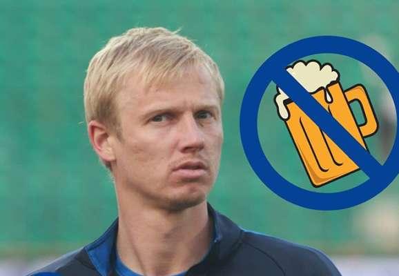 Потрібно менше пити. Клуб другої ліги розірвав контракт з екс-гравцем Чорноморця через п'янки