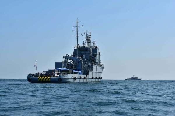 Украина и НАТО проводят совместные учения в Черном море. Фото