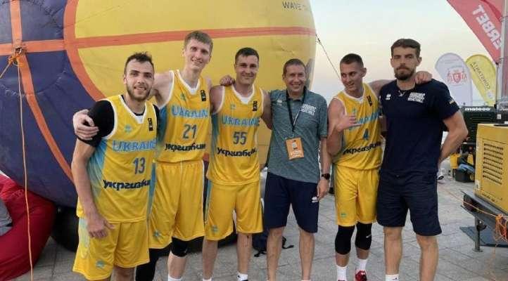 Украина узнала соперников на Евробаскете 3х3