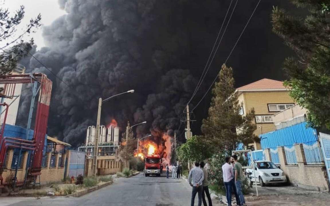 В Иране прогримел взрыв на химзаводе