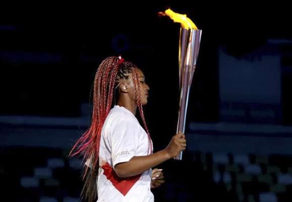 Наоми Осака зажгла олимпийский огонь Токио-2020! (ФОТО)