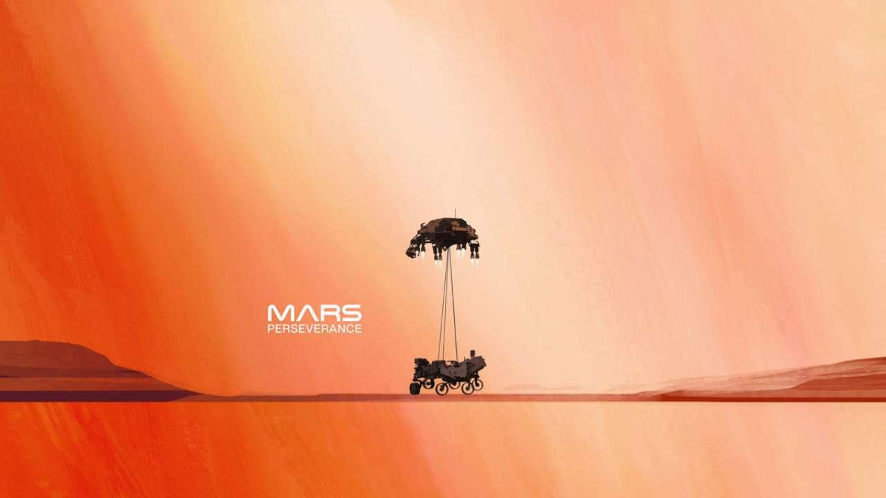 Марсоход Perseverance сегодня приземлится на Красную планету