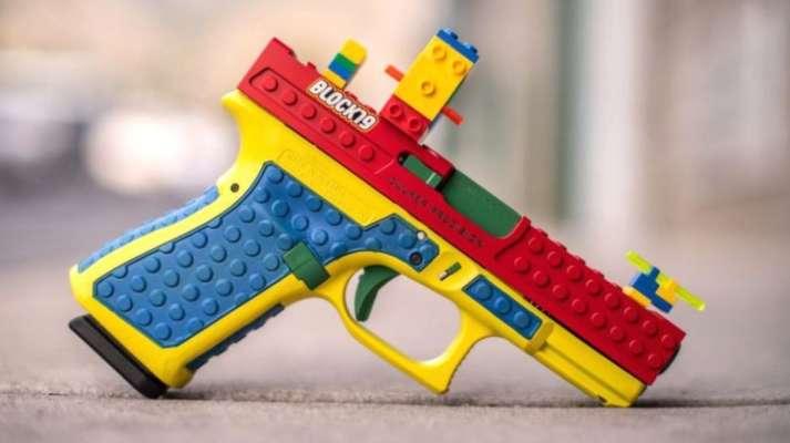 У США створили пістолет, стилізований під іграшку