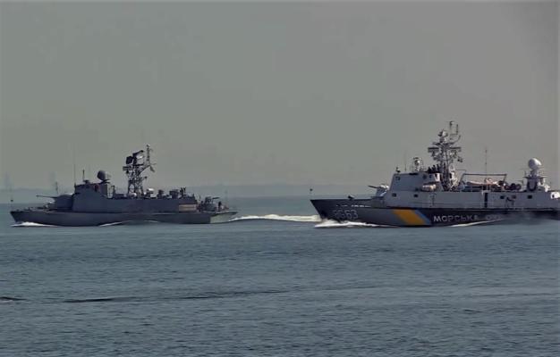 В Одессе провели репетицию морского парада ко Дню Независимости