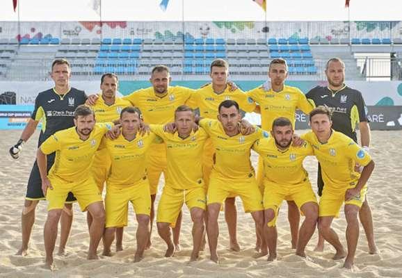 Сборная Украины по пляжному футболу разгромила Турцию на старте Кубка Независимости