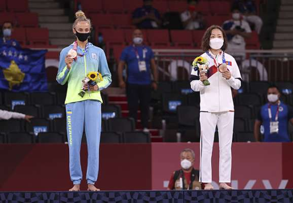 Україна завершила день на 19-му місці медального заліку Олімпіади