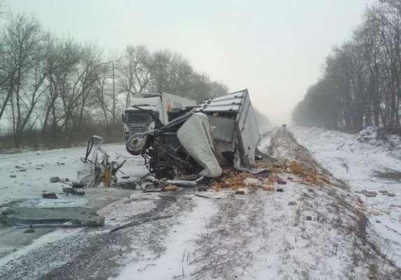 У потрійному ДТП в Харківській області загинули люди