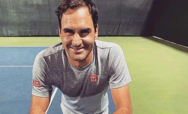 Федерер розпочав підготовку до турніру в Досі