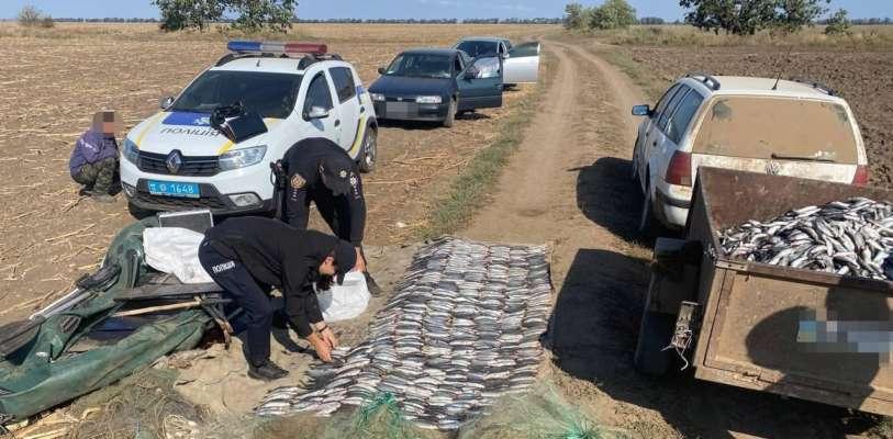 В Одеській області затримали браконьєрів