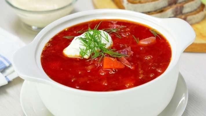 Борщ увійшов до двадцятки кращих супів світу