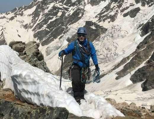 В горах Грузии трагически погиб украинский альпинист