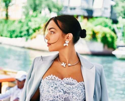 Красавица невеста Роналду отдыхает в Венеции. Фото