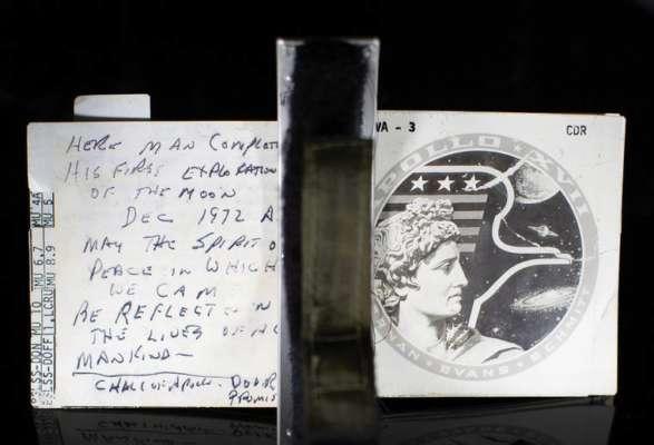 В США заметки астронавта продали за 745 тысяч долларов