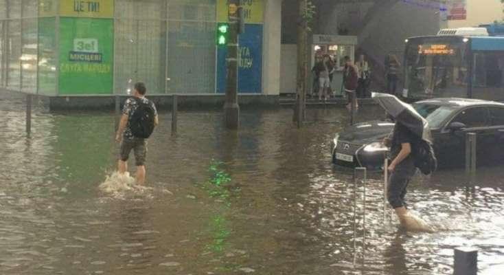 Наводнение в Днепре