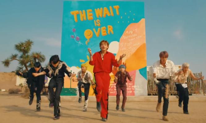 Новый клип BTS взорвал сеть по количеству просмотров