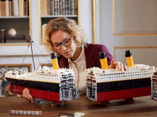 LEGO представила свій найбільший набір- «Титанік»
