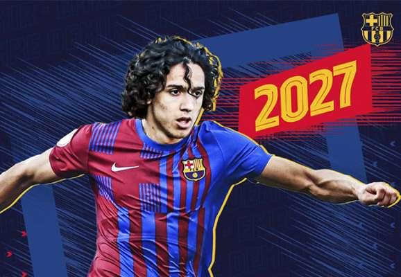 Барселона подписала самого молодого автора гола в истории чемпионатов Турции