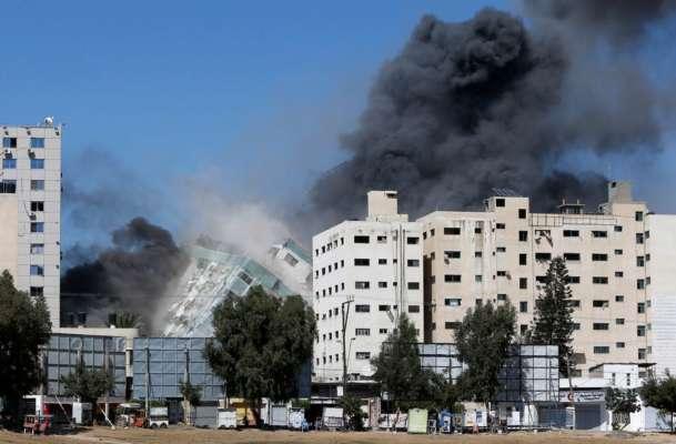 Израиль уничтожил башню, где работали иностранные СМИ