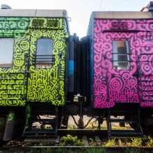 """Перший в Європі: """"Укрзалізниця"""" запустить унікальний арт-потяг. Фото"""