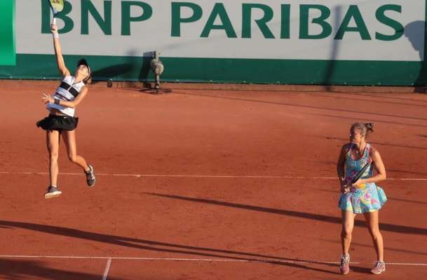 Катерина Бондаренко пробилася в півфінал парного розряду на турнірі в Польщі