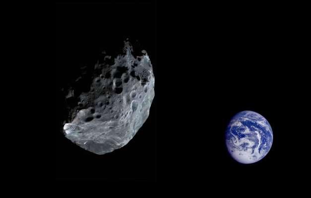 К Земле со скоростью 11 км/с приближается астероид