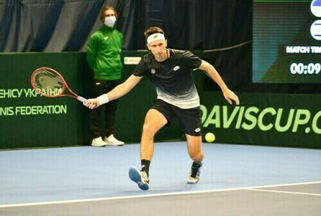 Стаховский пробился в парный полуфинал на турнире в Чехии