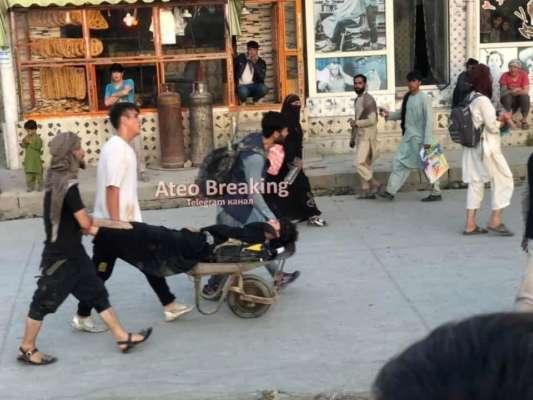 У Кабулі смертник підірвав вибухівку біля аеропорту. Відео 18+