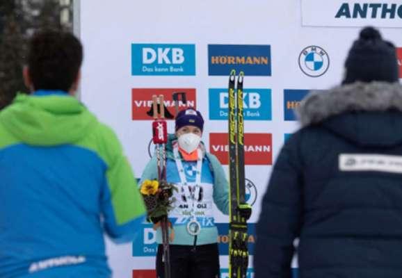 Юлия Джима финишировала 12-й в женском масс-старте