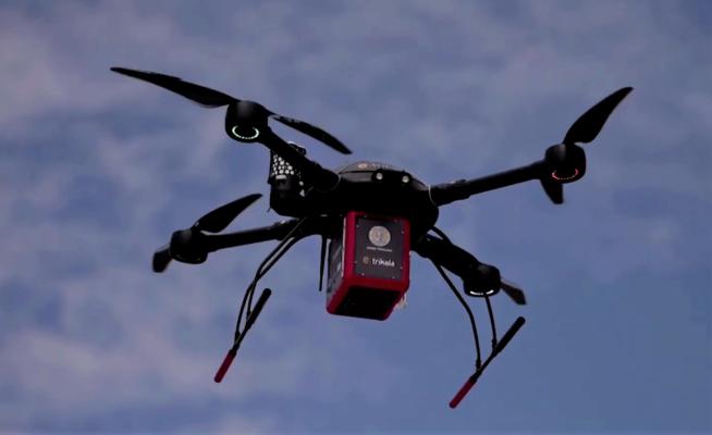 Греция тестирует дроны для доставки лекарств. Видео