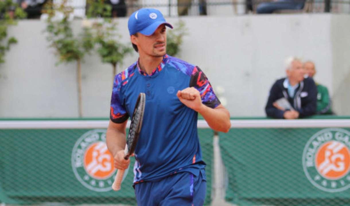 Молчанов стартував з перемоги у парному розряді турніру в Хорватії