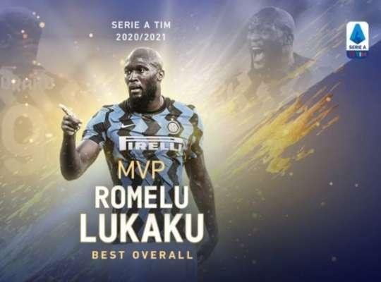 Ромелу Лукаку - лучший игрок Серии А 2020/2021