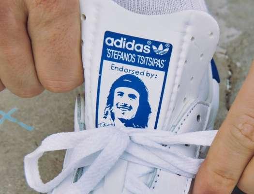 Циципас вместе с adidas представили именную модель кроссовок
