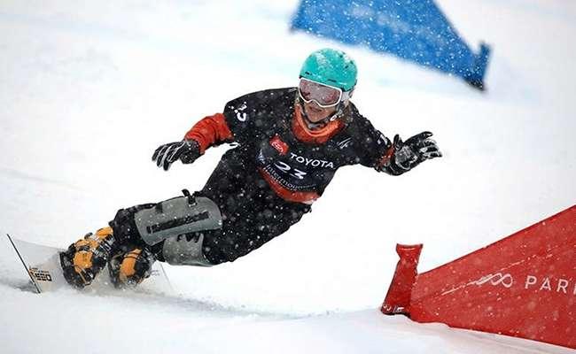 Украинка выиграла золото на Кубке Европы по сноубордингу