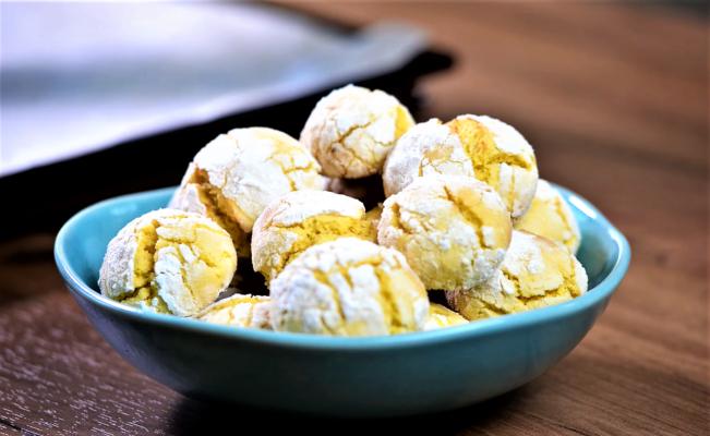 Рецепт хрустящего лимонного печенья из простых ингредиентов