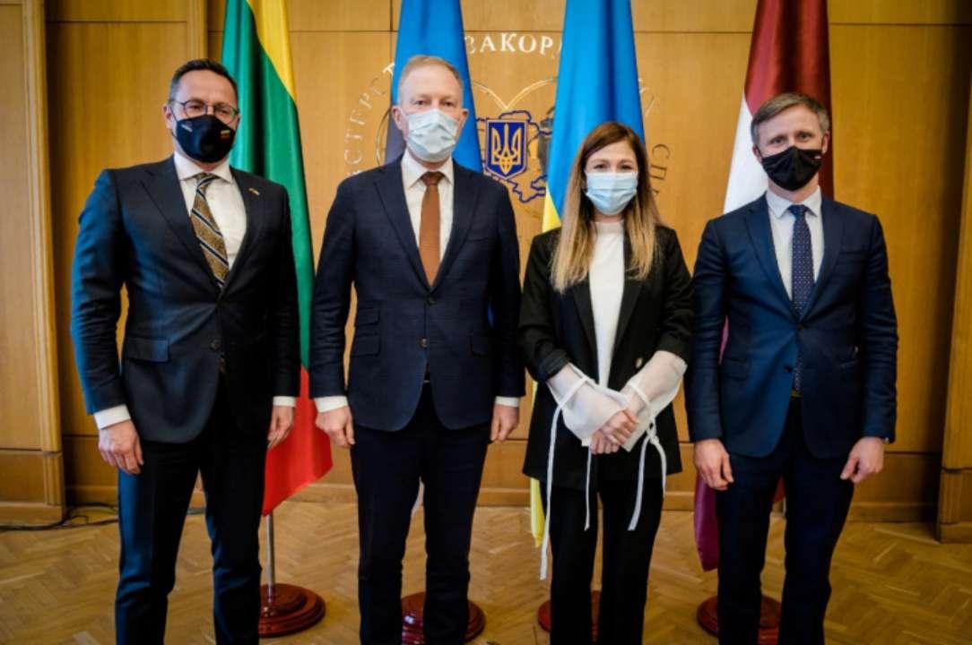 Зустріч з представниками країн Балтії