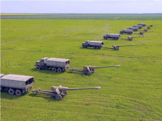 Артиллерия ВСУ провела масштабные учения вблизи Крымского полуострова. Видео
