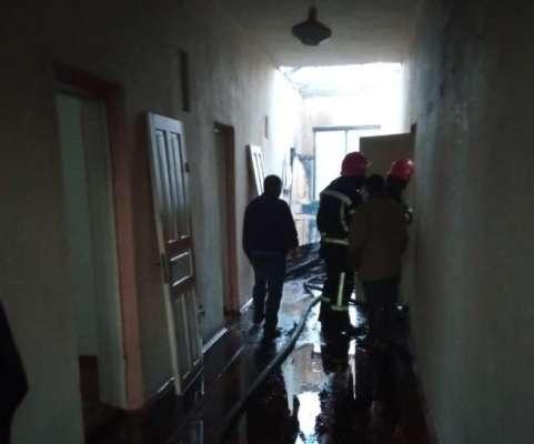 У Рівненській області школа загорілася через удар блискавки